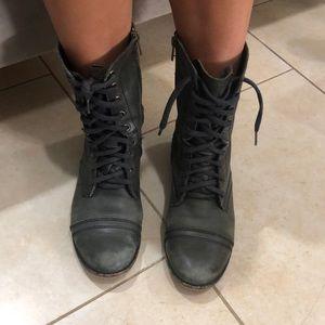 Steve Madden Vintage Combat Boots